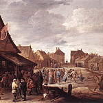 Дэвид II Тенирс - TENIERS_David_the_Younger_Village_Feast