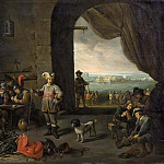David II Teniers - Guards of a Camp [After]