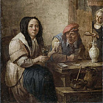 David II Teniers - The Card Game [Manner of]