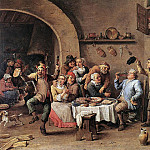 David II Teniers - TENIERS_David_the_Younger_Twelfth_Night_The_King_Drinks