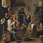 Unknown painters - Interior of a Tavern