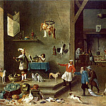 David II Teniers - TENIERS_David_the_Younger_The_Kitchen