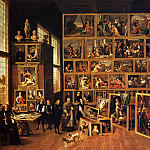 Дэвид II Тенирс - Teniers_The_Younger_David_The_Archduke_Leopold_Wilhelm_s_Studio