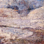 Джон Генри Твахтман - twachtman_the_brook,_greenwich,_connecticut_c1890-1900