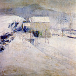 Джон Генри Твахтман - twachtman_snow_late-1890s