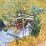 John Henry Twachtmann - twachtman_the_white_bridge_late-1890s