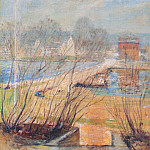 John Henry Twachtmann - twachtman_from_the_holley_house_(cos_cobb)_c1901