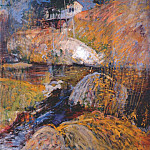 Джон Генри Твахтман - twachtman_my_summer_studio_c1900