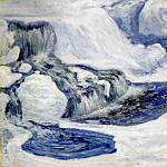 John Henry Twachtmann - twachtman_falls_in_january_c1895