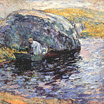 Джон Генри Твахтман - twachtman_a_summer_day_c1900