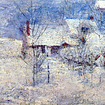 Джон Генри Твахтман - twachtman_snowbound_c1890s