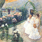 Джон Генри Твахтман - twachtman_on_the_terrace_c1897