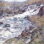 John Henry Twachtmann - twachtman_the_torrent_c1900