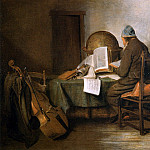 Gerard Terborch - Scientist in his study