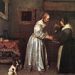 Gerard Terborch - Woman_Washing_Hands_WGA