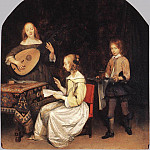 Gerard Terborch - The Concert