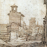 Gerard Terborch - sr View on Via Panisperna