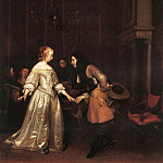 Gerard Terborch - The_Dancing_Couple_WGA