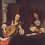Gerard Terborch - Woman_Playing_the_Lute_WGA