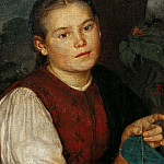 Portrait of sister Agathe