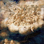 Hans von Marees - Cloud of Angels