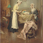 Henri Adriene Tanoux - A meeting with the dressmaker