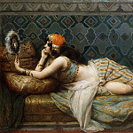 Henri Adriene Tanoux - The Odalisque