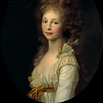 Friedrich Georg Weitsch - Princess Friederike of Prussia