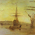 Joseph Mallord William Turner - William Turner - Cowes, Isle of Wight