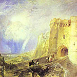 Joseph Mallord William Turner - William Turner - Carisbrook Castle, Isle of Wight