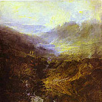 Joseph Mallord William Turner - William Turner - Morning Amongst the Coniston Fells, Cumberland