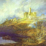 Joseph Mallord William Turner - William Turner - Warkworth Castle, Northumberlan