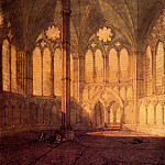 Joseph Mallord William Turner - Turner_Joseph_Mallord_William_The_Chapter_House_Salisbury_Cathedral