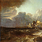 Joseph Mallord William Turner - Turner_Joseph_Mallord_William_Ships_Bearing_Up_for_Anchorage_aka_The_Egremont_sea_Piece