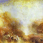 Joseph Mallord William Turner - William Turner - Mercury Sent to Admonish Aeneas