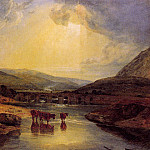 Turner_Joseph_Mallord_William_Abergavenny_Bridge_Monmountshire_clearing_up_after_a_showery_day, William Sidney Mount