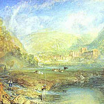 Joseph Mallord William Turner - William Turner - Rivaulx Abbey, Yorkshire