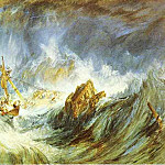 Joseph Mallord William Turner - William Turner - A Storm (Shipwreck)