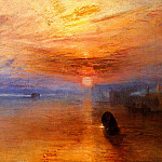 Joseph Mallord William Turner - Turner_Joseph_Mallord_William_The_fighting_-Temeraire-_tugged_to_her_last_Berth_to_be_broken_up_d