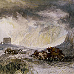 Turner_Joseph_Mallord_William_Passage_of_Mount_Cenis, William Sidney Mount
