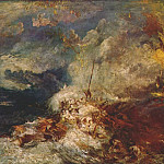 Джозеф Уильям Мэллорд Тёрнер - turner_fire_at_sea_c1835
