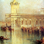 Joseph Mallord William Turner - Turner Joseph The Dogana San Giorgio Sun