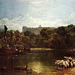 Joseph Mallord William Turner - Turner_Joseph_Mallord_William_Windsor_Castle_from_the_Thames