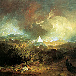 Joseph Mallord William Turner - Turner Joseph The fifth plague of Egypt Sun