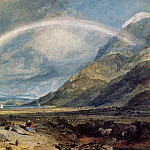 Turner_Joseph_Mallord_William_Kilchern_Castle_with_the_Cruchan_Ben_mountains_Scotland_Noon, William Sidney Mount