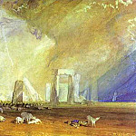 Joseph Mallord William Turner - William Turner - Stonehenge