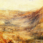 Joseph Mallord William Turner - Turner_Joseph_Mallord_William_The_Brunig_Pass_from_Meringen