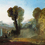 Joseph Mallord William Turner - Turner_Joseph_Mallord_William_Ariccia_Sunset