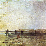 Joseph Mallord William Turner - Turner_Joseph_Mallord_William_The_Chain_Pier_Brighton