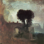 Joseph Mallord William Turner - Turner_Joseph_Mallord_William_Archway_with_Trees_by_the_Sea